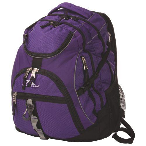 """High Sierra 17"""" Laptop Backpack (53671-3929) - Deep Purple / Black   - Online Only"""