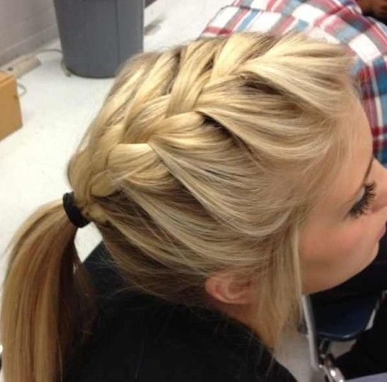 Trendy French Braid Hairstyles For 2014
