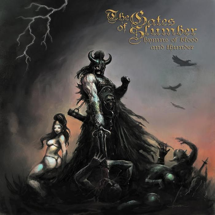 The Gates of Slumber — Hymns of Blood and Thunder (2009) | Heavy/Doom Metal