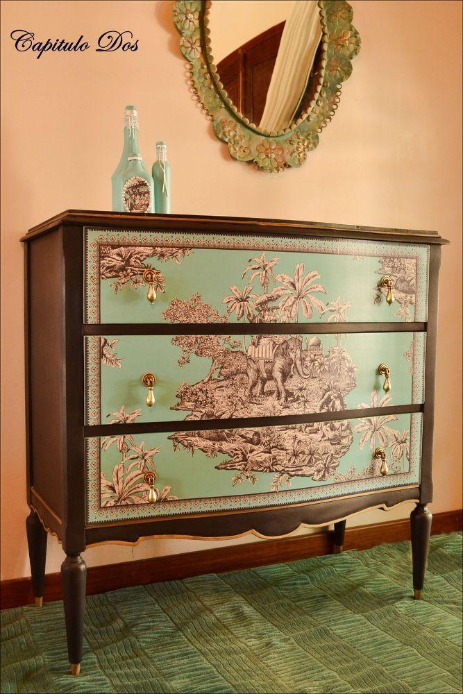 M s de 25 ideas incre bles sobre muebles viejos en pinterest - Reciclar muebles viejos ...