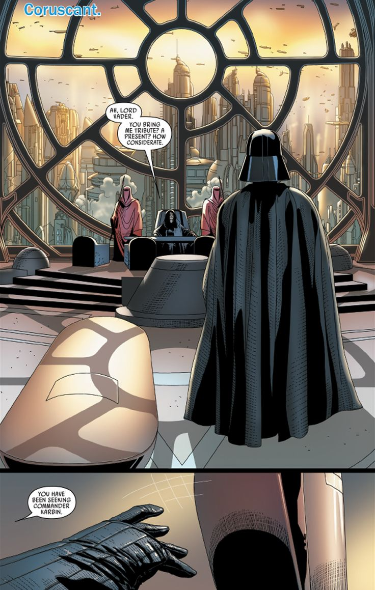 In Three Pages, This Week's Darth VaderComic Shows Us the Ballsiest Thing Vader Has Ever Done