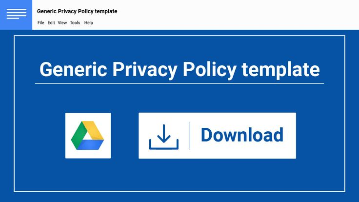 Make sure your Privacy Policy has all the necessary clauses. Start ...