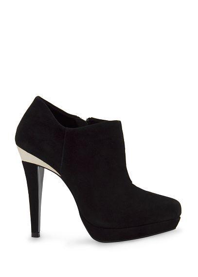 MANGO - Suede platform ankle boots