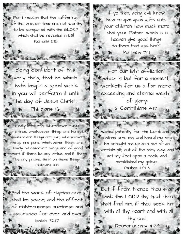 Free Printable Scripture Card at http://www.4thischildiprayed.com/free-printable-scripture-cards/