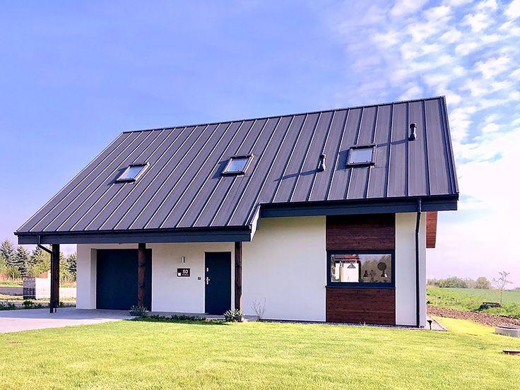 Realizacja projektu Albit (101,80 m2). Pełna prezentacja projektu dostępna jest na stronie: https://www.domywstylu.pl/projekt-domu-albit.php. #albit #projekt #projekty #domy #dom #projektygotowe #architektura #domywstylu #mtmstyl #realizacje #design #homedesign #architecture #budujemydom #budowa