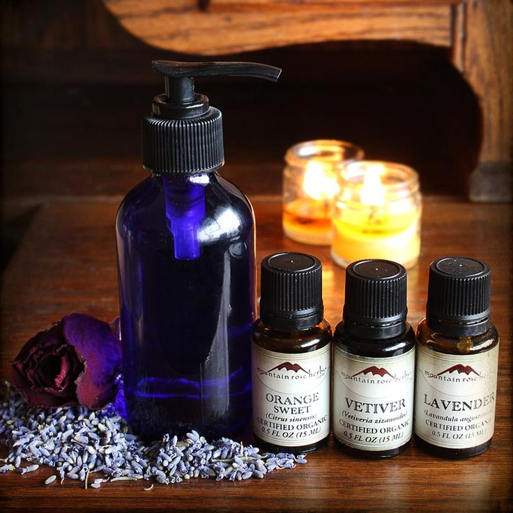 DIY: Massage Oils for Lovers