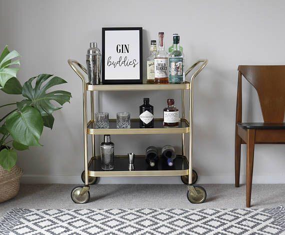 les 25 meilleures id es de la cat gorie chariots de bar sur pinterest desserte style de. Black Bedroom Furniture Sets. Home Design Ideas