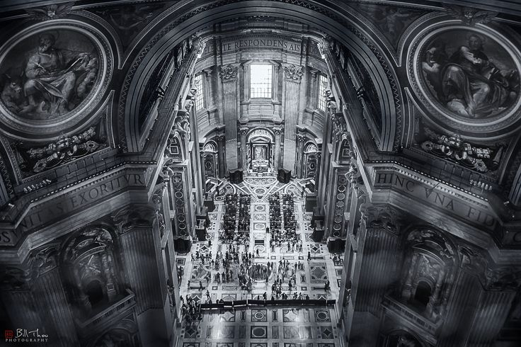 https://flic.kr/p/KzBzN1 | Above. | St Peter's Basilica, Vatican, Rome, Italy, October 2011.