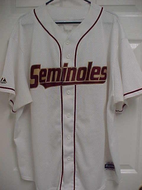 buy online 216bd cd1e5 Details about VTG Florida State Seminoles Colosseum Baseball ...