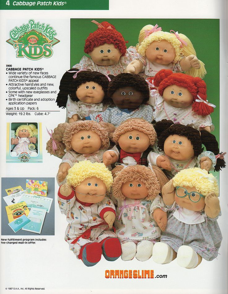 https://flic.kr/p/eQnJff | Cabbage Patch Kids - Kids | Cabbage Patch Kids - Coleco - 1987 - Dolls