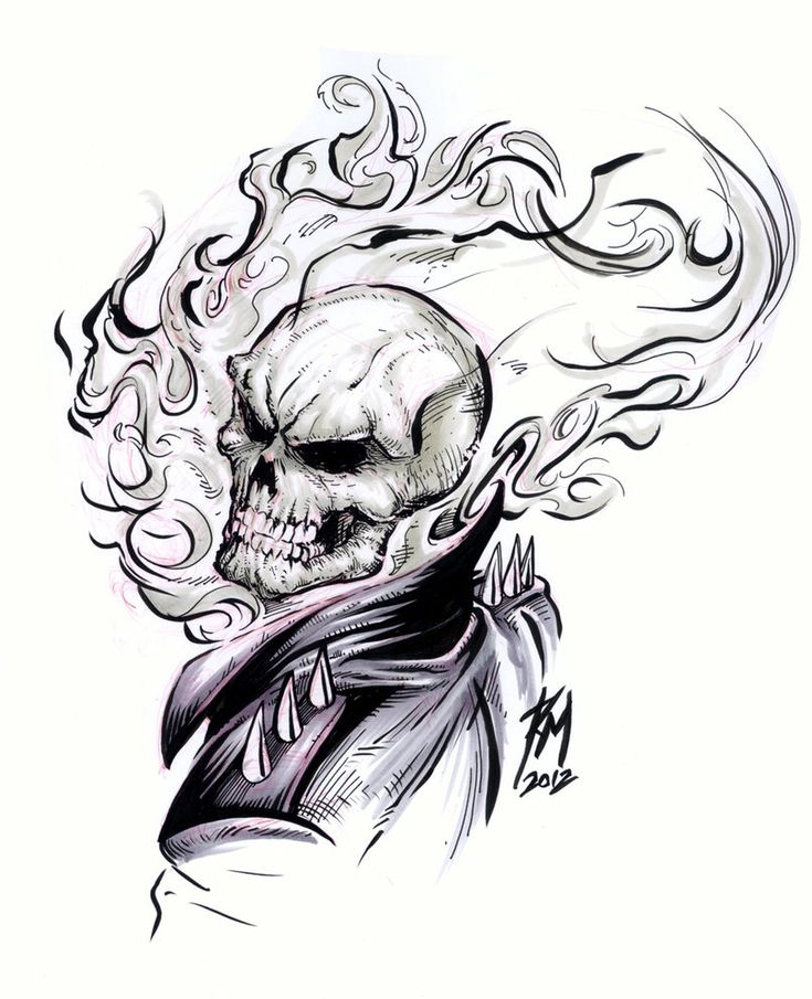 How to draw ghost rider cartoon google search - Dessin de ghost rider ...