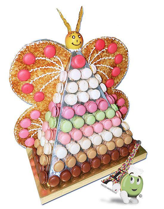 Papillon de macarons