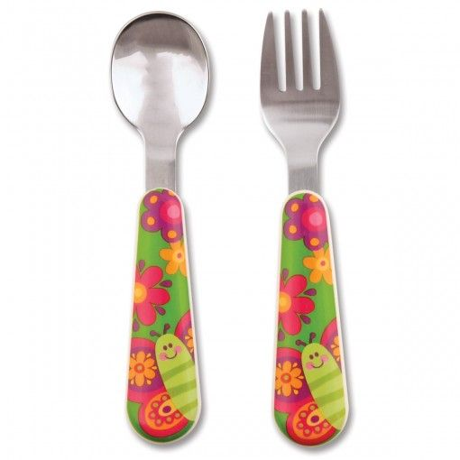 Butterfly Silverware Possum Pie Stephen Joseph Arts and Crafts, Gifts and Toys, Bags and Backpacks