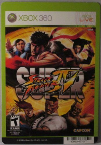 BACKER CARD FOR SUPER STREET FIGHTER IV  XBOX 360  Not The Video Game >>> You can get additional details at the image link. Note:It is Affiliate Link to Amazon.