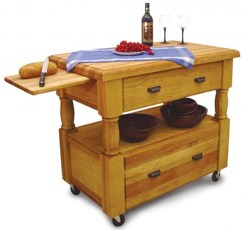 $1,219.00 (CLICK IMAGE TWICE FOR UPDATED PRICING AND INFO)  Butcher Block Kitchen Island - Island Europa - Catskill Craftsmen 1429.See More Butcher Block Islands at http://www.zbuys.com/level.php?node=3927=butcher-block-islands