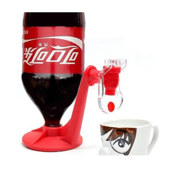 Party Soda Fizz Saver Dispenser Bottle Drinking Water Dispense Gadget