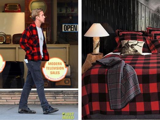 Ryan Gosling inspired bedding?  hells yes.