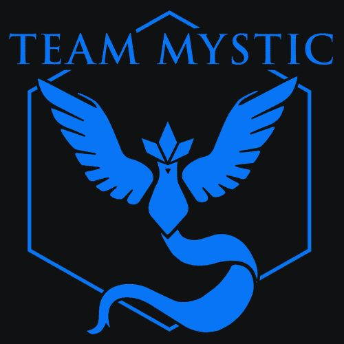 Team Mystic T-Shirt - Pokemon Go Show off your love for Pokemon Go and Team…