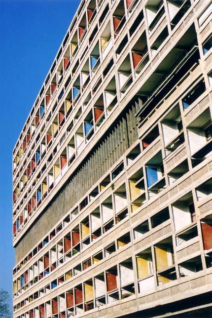 1945-1952 | Le Corbusier | Unité d'Habitation, Marseille, France