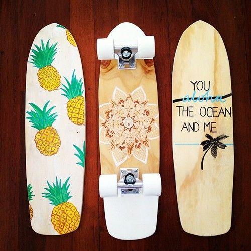 ♔ Roller Skates & Skateboards