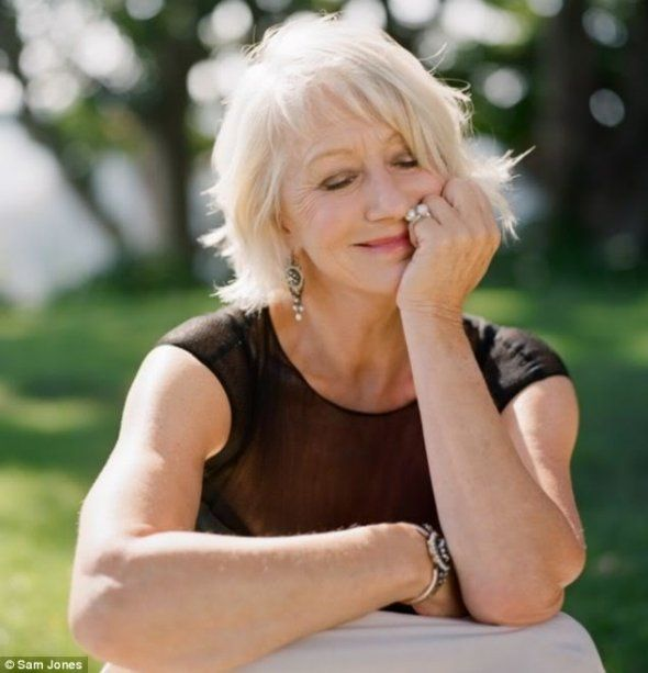 Helen Mirren, I want to age gracefully like her
