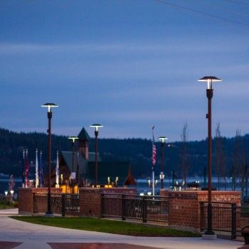 Coeur D'Alene's Newest and Largest Park Transformed with Lighting from Luminis