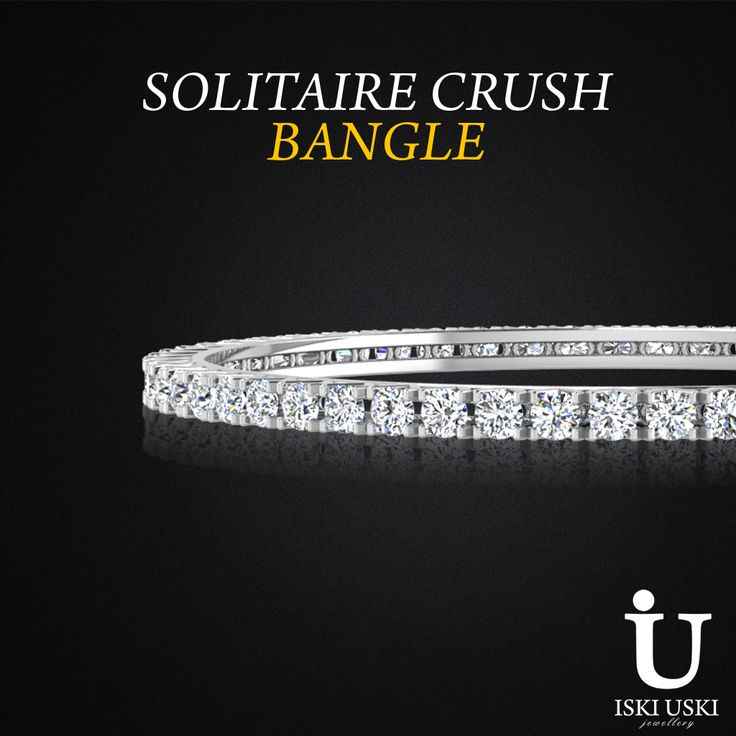 #Best #Collection Of #Traditional #Design #Solitaire #Crush #Bangle
