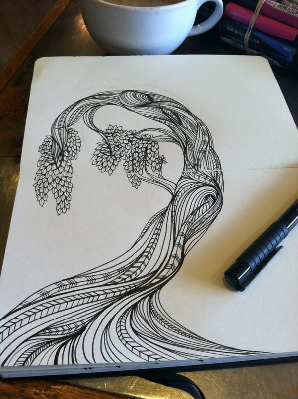 Moleskine Sketches by Catie Cook, via Behance Certainly there is a wealth of ideas for those that can, and links to buy for those that think they cant...
