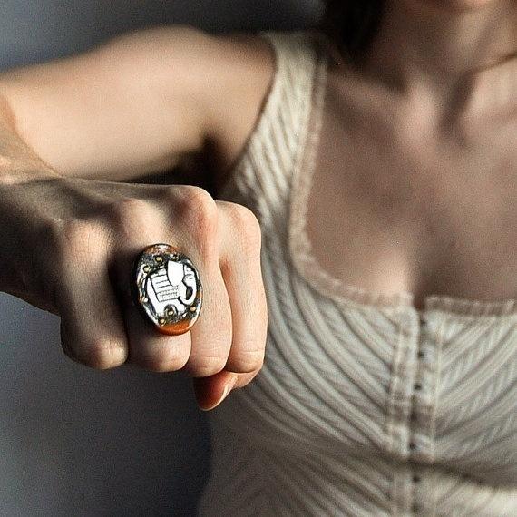 Indian Elephant Ring.
