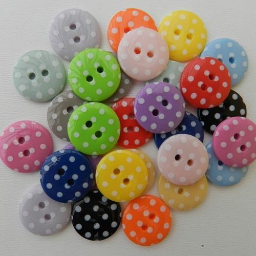 single colour buttons