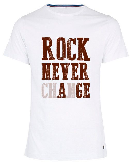 Rock statement t-shirt