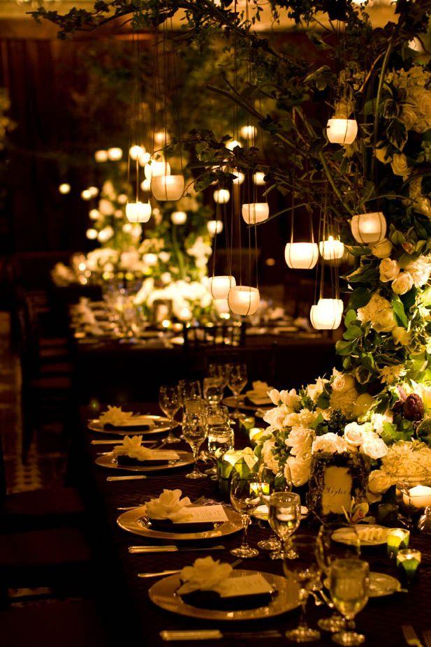 Gorgeous wedding lighting!!
