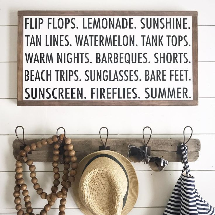 "4 Likes, 1 Comments - Handmade Wooden Signs (@pine.and.birch) on Instagram: ""⭐️ Happy Friday! ⭐️ I finally booked a vacation so now it officially feels like summer  Summer…"""