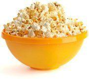 Popcorn in Gele Kom