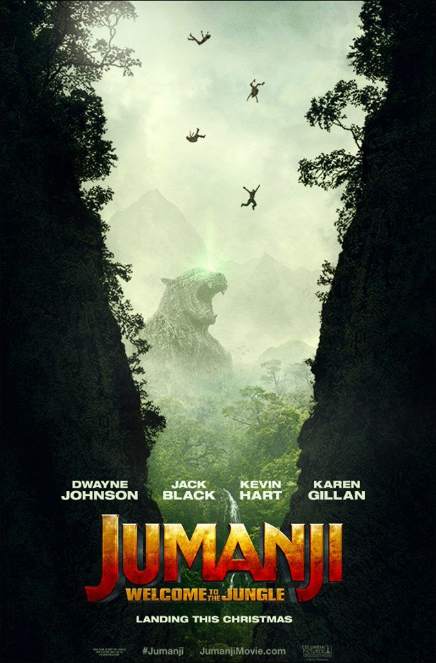 Watch the new #JUMANJI trailer now and don't miss it in theaters December 20th! In the brand new adventure Jumanji: Welcome to the Jungle, the tables are turned as four teenagers in detention are sucked into the world of Jumanji. When they discover an old video game console with a game they've never heard of, …