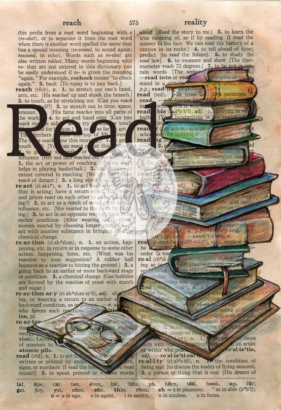 IMPRIMÉ : Lire mixte inspirant en détresse, dictionnaire Page
