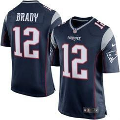 Tom Brady Nike Elite NFL New England Patriots men's jersey (Blue)