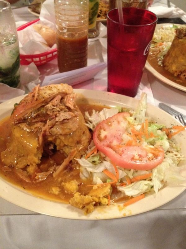 Authentic puerto rican food eaten on my trip to san juan for Authentic puerto rican cuisine
