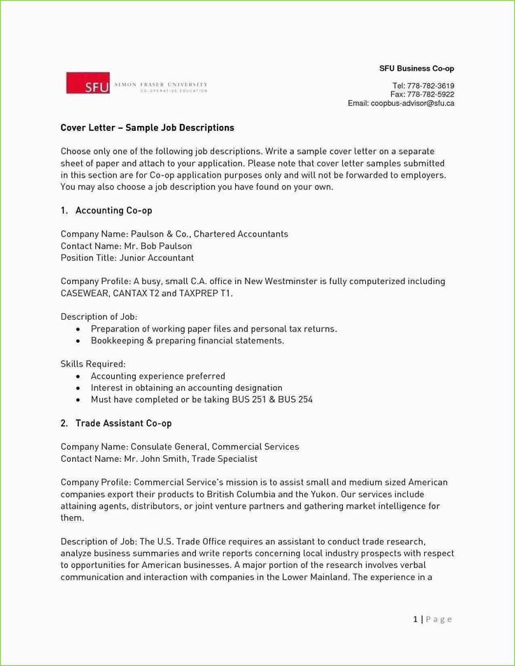 Generic cover letter examples resume cover letter