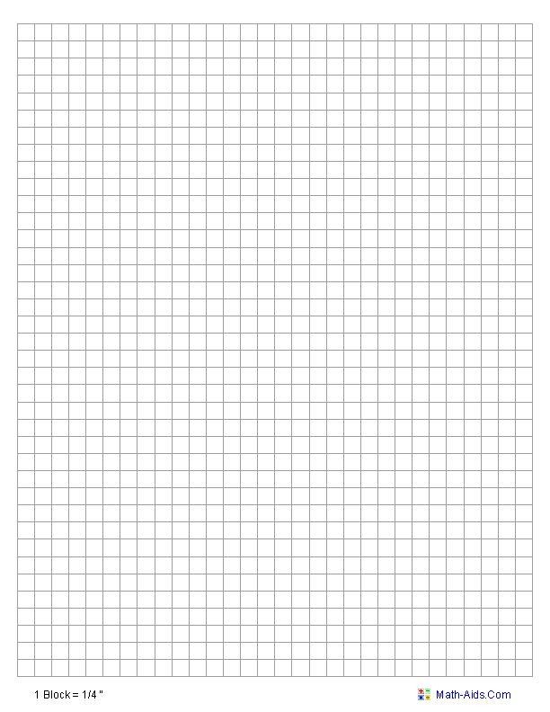 Math Graph Paper. Math-Aids Com - This Graphing Paper Is Suitable