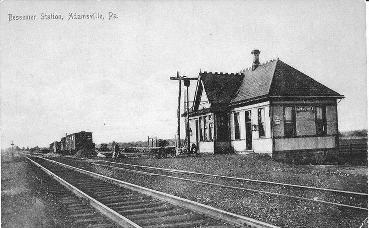 Bessemer Station, Adamsville, PA Bessemer, Train station