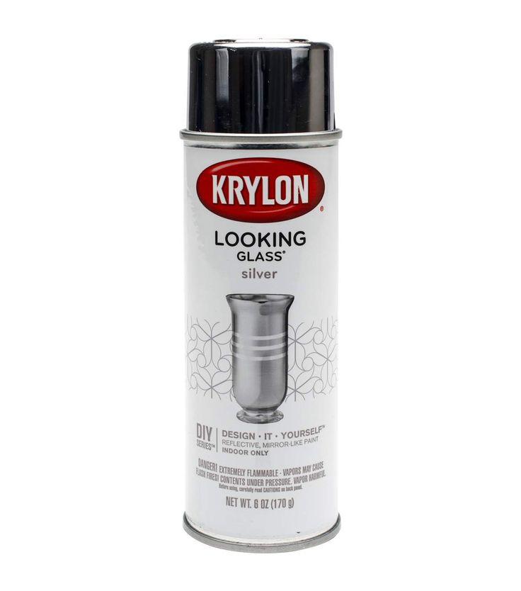 Krylon Amber Spray Paint For Jars