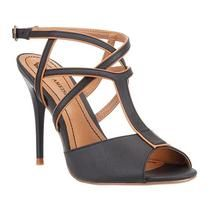 AMEISE - BLACK AND BONE - Comfortable strappy Heals - Shop Now - http://shop.mylookinstyle.com/ameise-black-and-bone-heel/