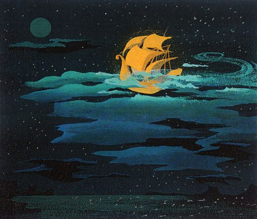Vintage Disney - Illustration from Mary Blair- magical!