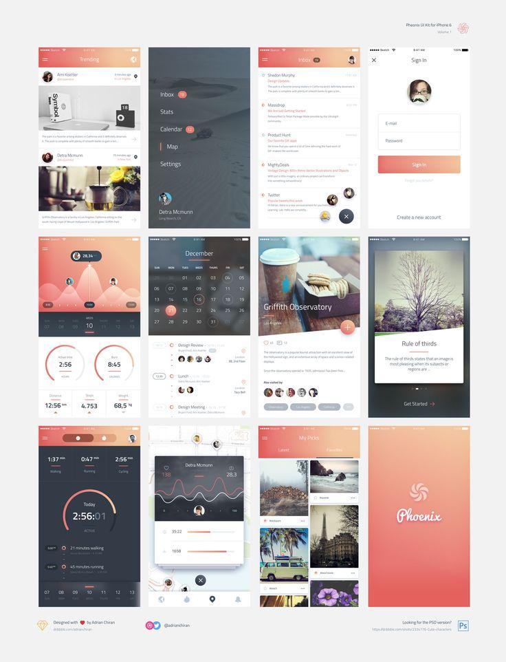 Phoenix iOS UI Kit