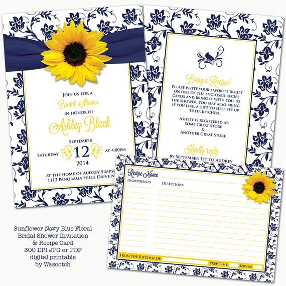 Sunflowers navy blue and navy on pinterest
