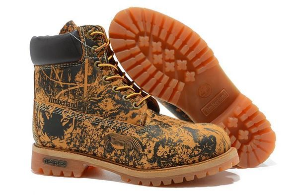 Men Timberland Classic Flora Brown Boots