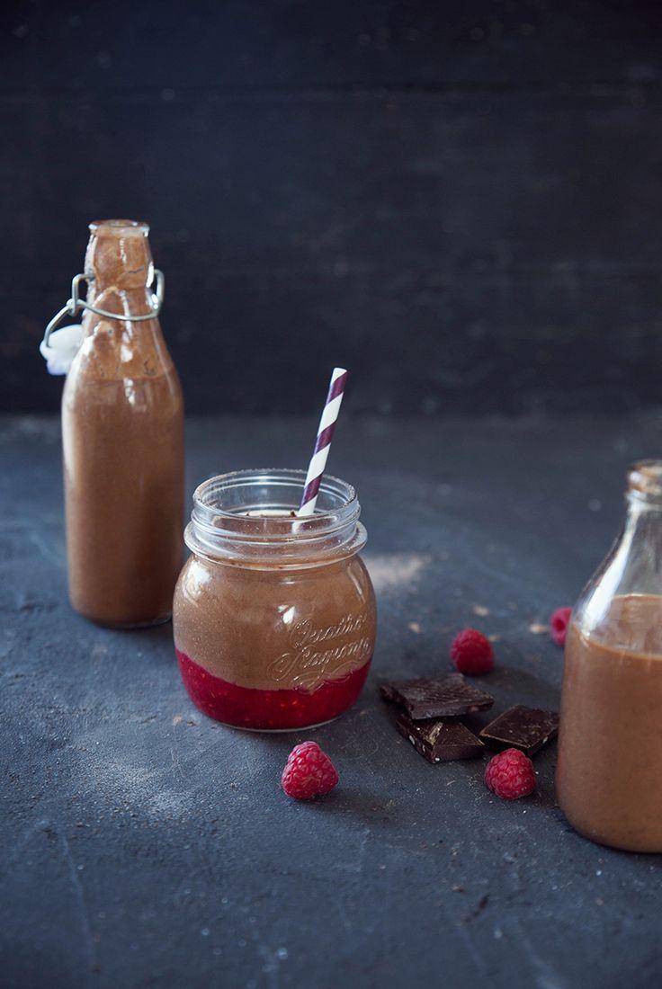 Léger : Smoothie cacao - avocat ©Fraise et Basilic