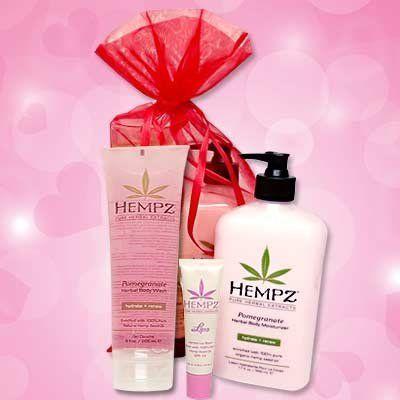 Hempz POMEGRANATE BATH & BODY GIFT SET - 3 pc. by Hempz. Save 60 Off!. $19.95. Hempz Bath & Body Gift set for your Holiday gift giving!