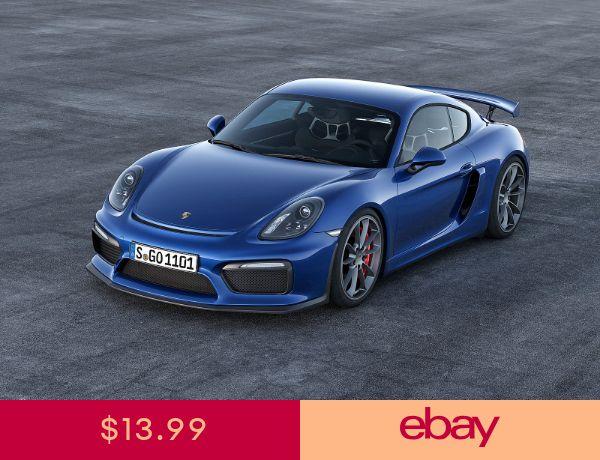 Porsche Sports Car 13 New 24 X 36 Poster Usa Seller 2015 Porsche Cayman Super Cars Porsche